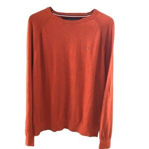Classic Tommy Hilfiger Crew Neck Pullover Sweater